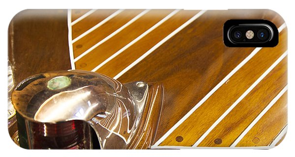 Vintage Century Boat Bow Light IPhone Case