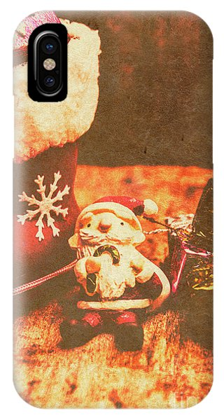 Santa Claus iPhone Case - Vintage Christmas Art by Jorgo Photography - Wall Art Gallery