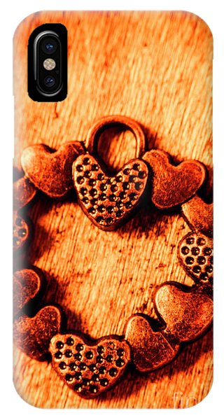 Style iPhone Case - Vintage Circle Of Hearts by Jorgo Photography - Wall Art Gallery