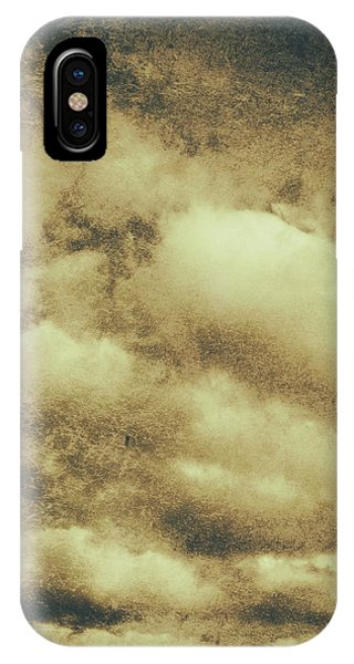 Damage iPhone Case - Vintage Cloudy Sky. Old Day Background by Jorgo Photography - Wall Art Gallery