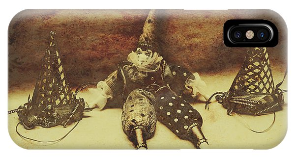 Event iPhone Case - Vintage Clown Doll. Old Parties by Jorgo Photography - Wall Art Gallery