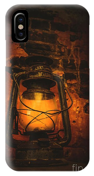 Old Barn iPhone Case - Vintage Colonial Lantern by Jorgo Photography - Wall Art Gallery
