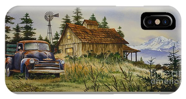 Vintage Country Landscape IPhone Case