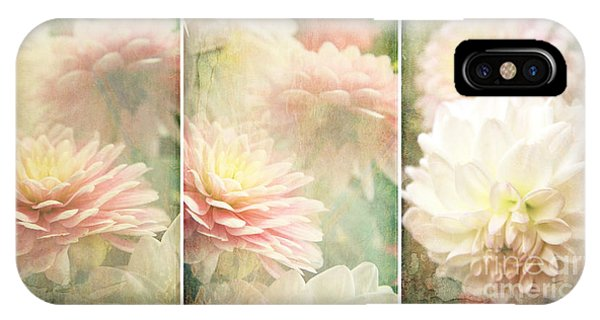 Vintage Dahlia IPhone Case