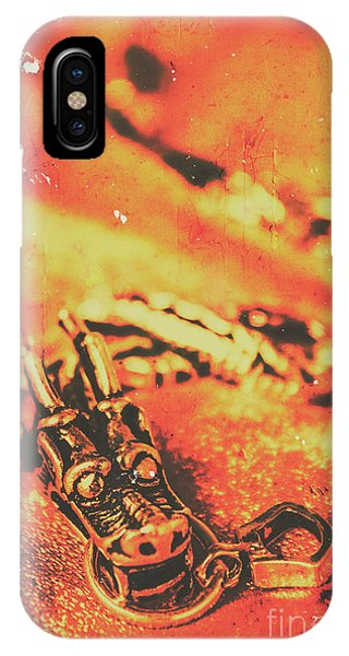 Dragon iPhone X Case - Vintage Dragon Charm by Jorgo Photography - Wall Art Gallery