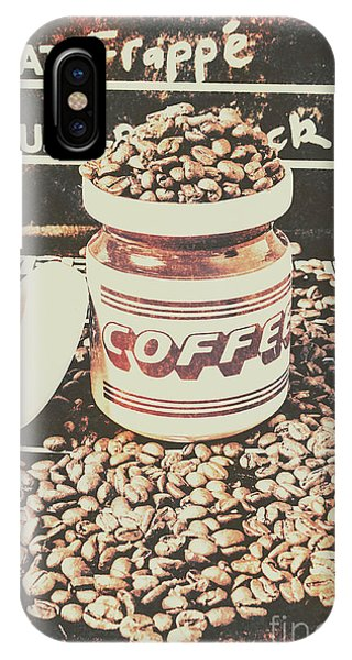Cafe iPhone Case - Vintage Drinks Decor  by Jorgo Photography - Wall Art Gallery