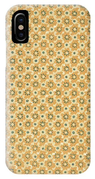 Repeat iPhone Case - Vintage End Paper Pattern From Queen Of Spades By Alexandr Sergeevich Pushkin by Russian School