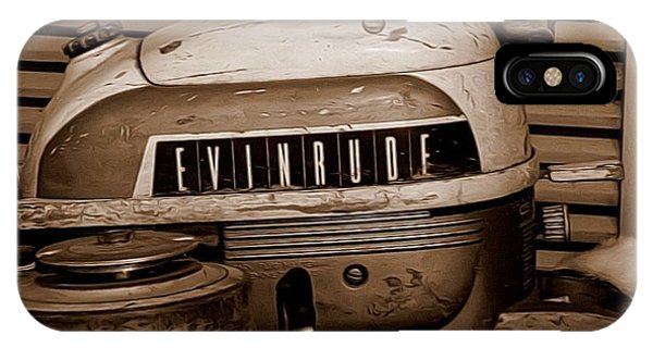 Vintage Evinrude IPhone Case