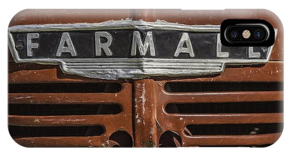 Vintage Farmall Tractor IPhone Case