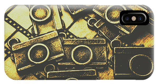 Roll iPhone Case - Vintage Film Camera Scene by Jorgo Photography - Wall Art Gallery