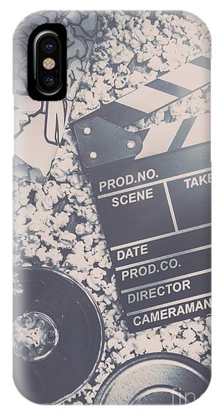 Industry iPhone Case - Vintage Film Production by Jorgo Photography - Wall Art Gallery