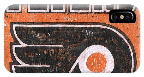Indoors iPhone Case - Vintage Flyers Sign by Debbie DeWitt