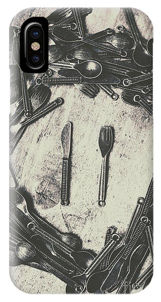 Object iPhone Case - Vintage Food Service by Jorgo Photography - Wall Art Gallery