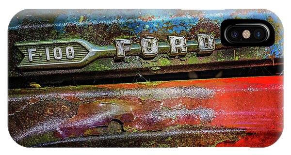 Vintage Ford F100 IPhone Case