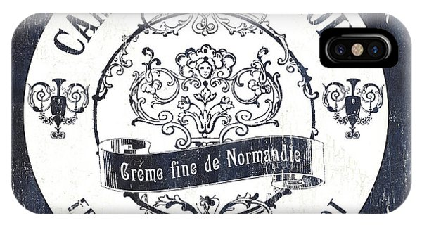 Vintage French Cheese Label 3 IPhone Case