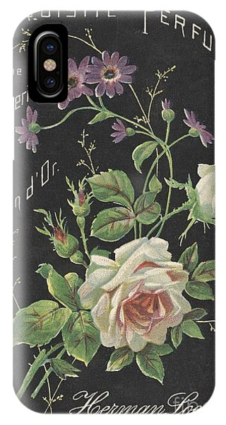 Vintage French Perfume  IPhone Case