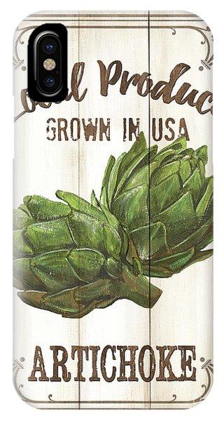 Fresh iPhone Case - Vintage Fresh Vegetables 2 by Debbie DeWitt
