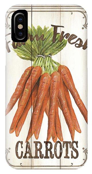 Agriculture iPhone Case - Vintage Fresh Vegetables 3 by Debbie DeWitt