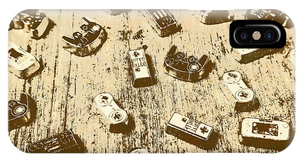 Electronic iPhone Case - Vintage Gamers by Jorgo Photography - Wall Art Gallery