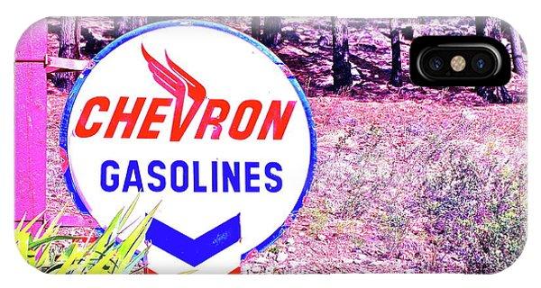 Vintage Gasoline Sign IPhone Case