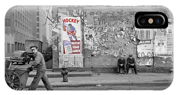 Vintage Hockey Poster IPhone Case