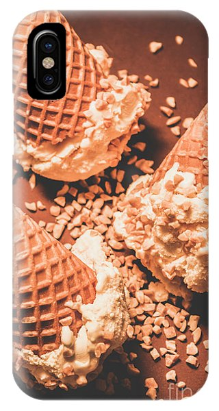 Ice iPhone Case - Vintage Ice Cream Shop Art by Jorgo Photography - Wall Art Gallery