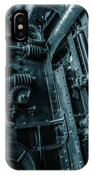 Ironwork iPhone Case - Vintage Industrial Pipes by Carlos Caetano