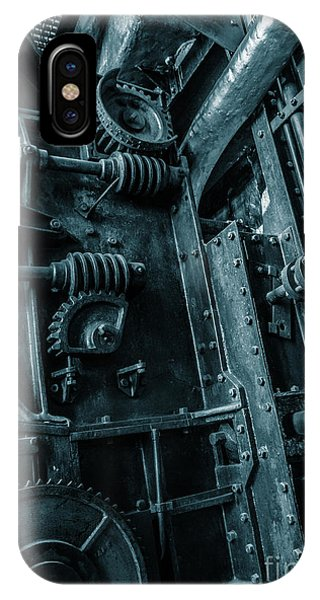 Vintage Industrial Pipes IPhone Case