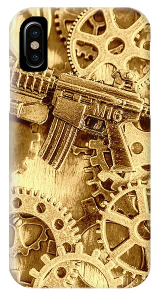 Vintage M16 Artwork IPhone Case