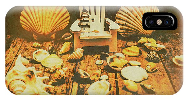 Interior Design Art iPhone Case - Vintage Marine Scene by Jorgo Photography - Wall Art Gallery