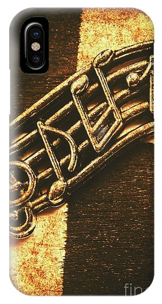Concert iPhone Case - Vintage Melody by Jorgo Photography - Wall Art Gallery
