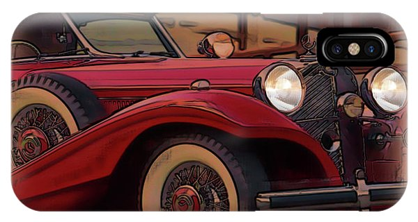 Vintage Mercedes IPhone Case