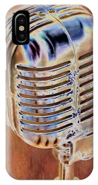 Vintage Microphone IPhone Case