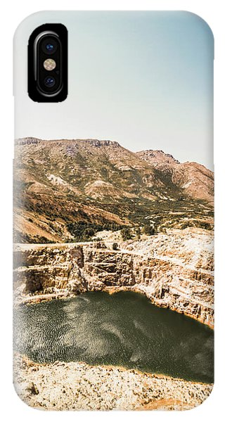 Industry iPhone Case - Vintage Mining Pit by Jorgo Photography - Wall Art Gallery