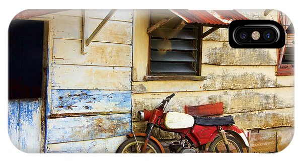 Vintage Motorbike IPhone Case