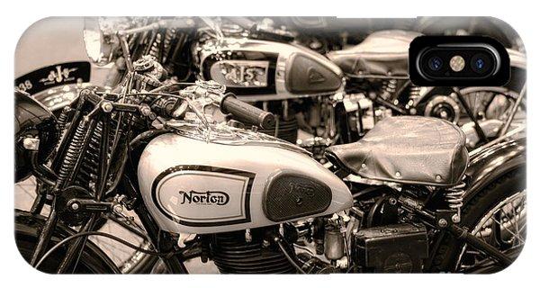 Vintage Motorcycles IPhone Case