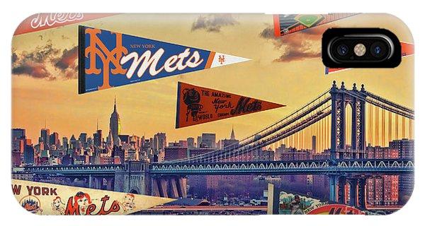 Vintage New York Mets IPhone Case