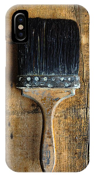 Vintage Paint Brush IPhone Case
