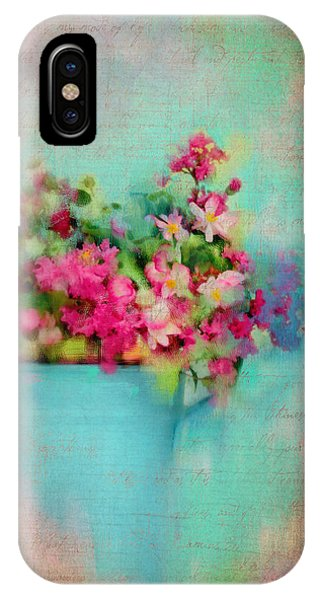 Flowers From A Cottage Garden IPhone Case