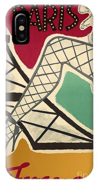 Paris iPhone Case - Vintage Paris Cabaret by Mindy Sommers