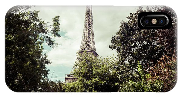 Vintage Paris Landscape IPhone Case
