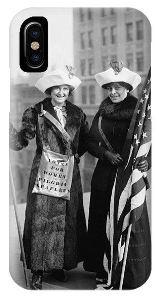 Vintage Photo Suffragettes IPhone Case