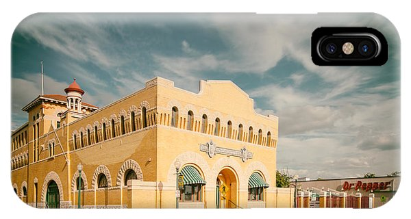 King Charles iPhone Case - Vintage Photograph Of Dr. Pepper Museum In Waco Texas by Silvio Ligutti