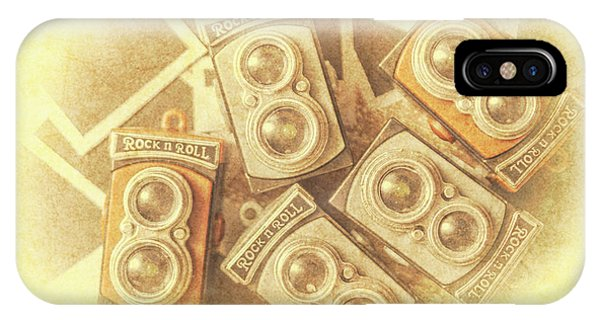 Camera iPhone Case - Vintage Photographer Film Art by Jorgo Photography - Wall Art Gallery