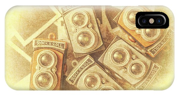 Vintage Camera iPhone Case - Vintage Photographer Film Art by Jorgo Photography - Wall Art Gallery