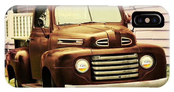 Vintage Pick Up Truck IPhone Case