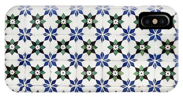Vintage Portuguese Tiles IPhone Case