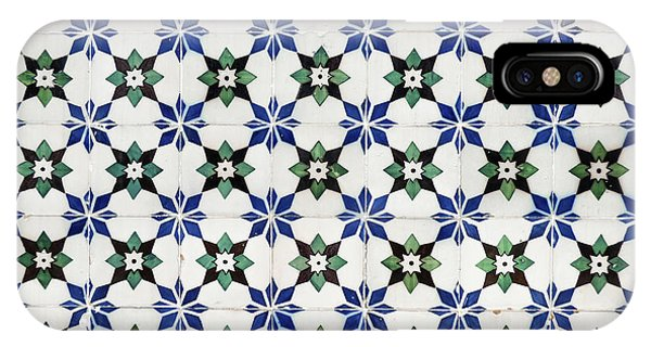 Vintage Portuguese Tiles IPhone Case
