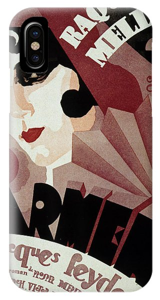 Vintage Poster For Carmen IPhone Case