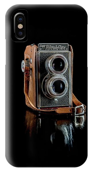Vintage Ricohflex Camera IPhone Case